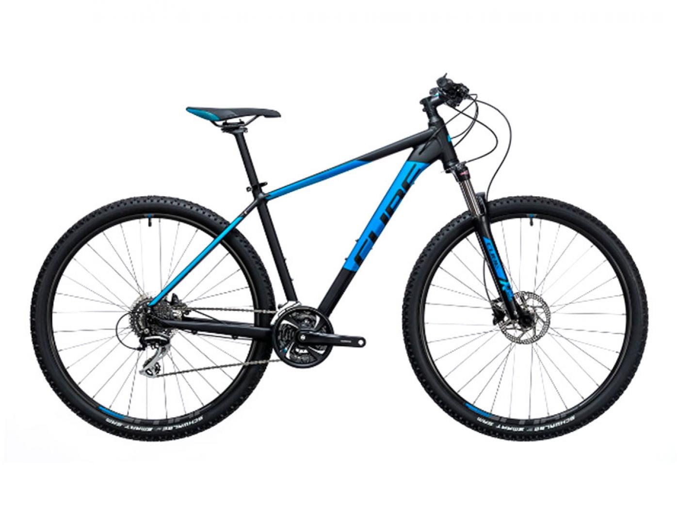Велосипед Cube Aim Race 29 (2017) (Черный)