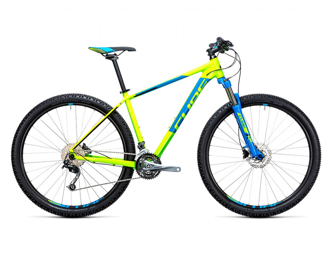 Велосипед Cube Aim SL 29 (2017) (Киви)