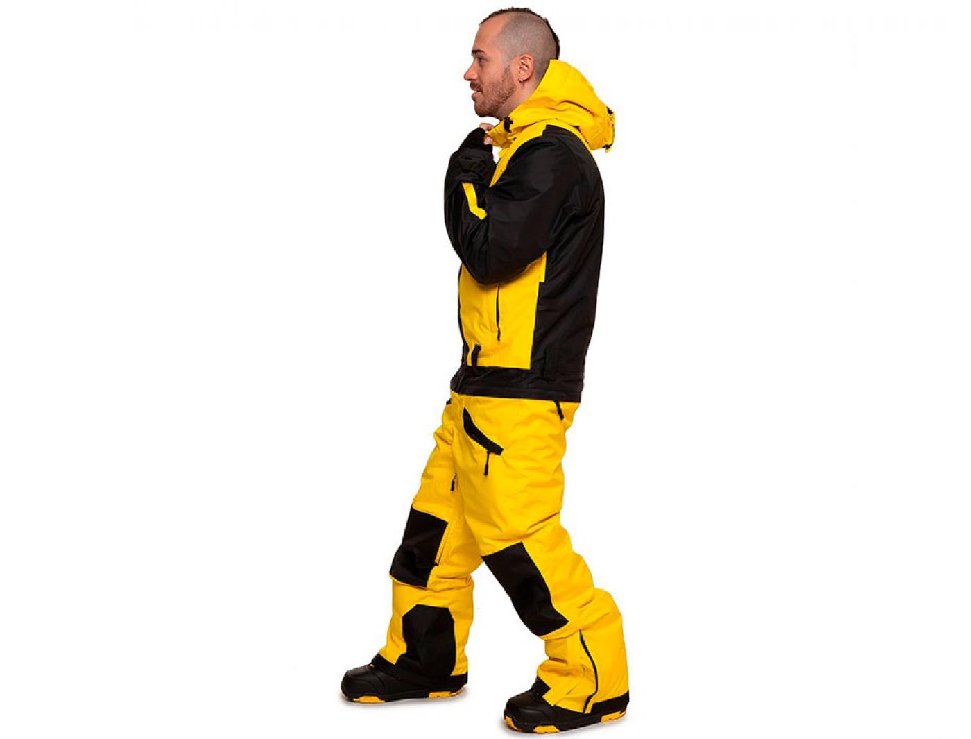 комбинезон cool zone snowboard 4310/20 желтый-черный (2018)