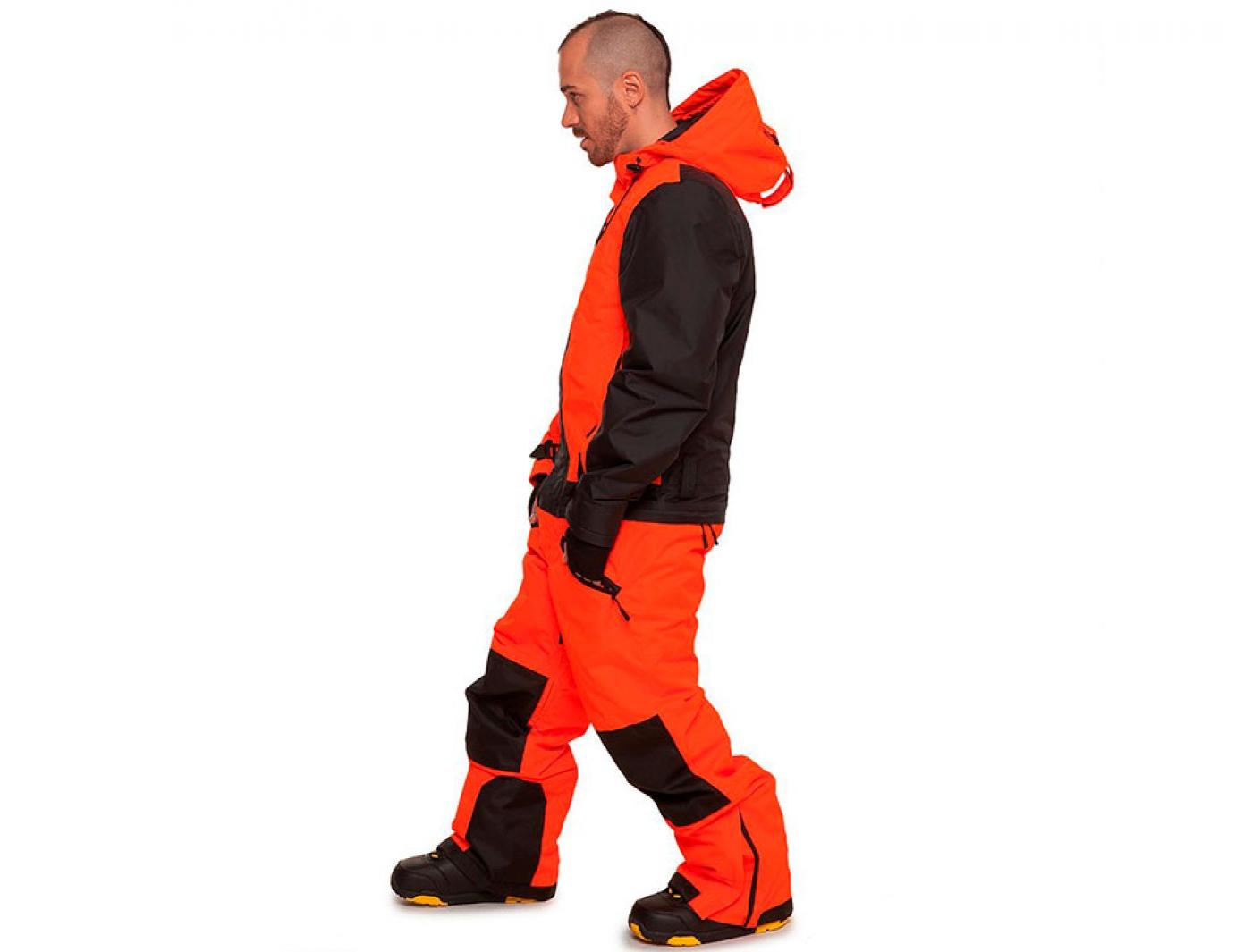 комбинезон cool zone snowboard 4317/20 оранжевый-черный (2018)
