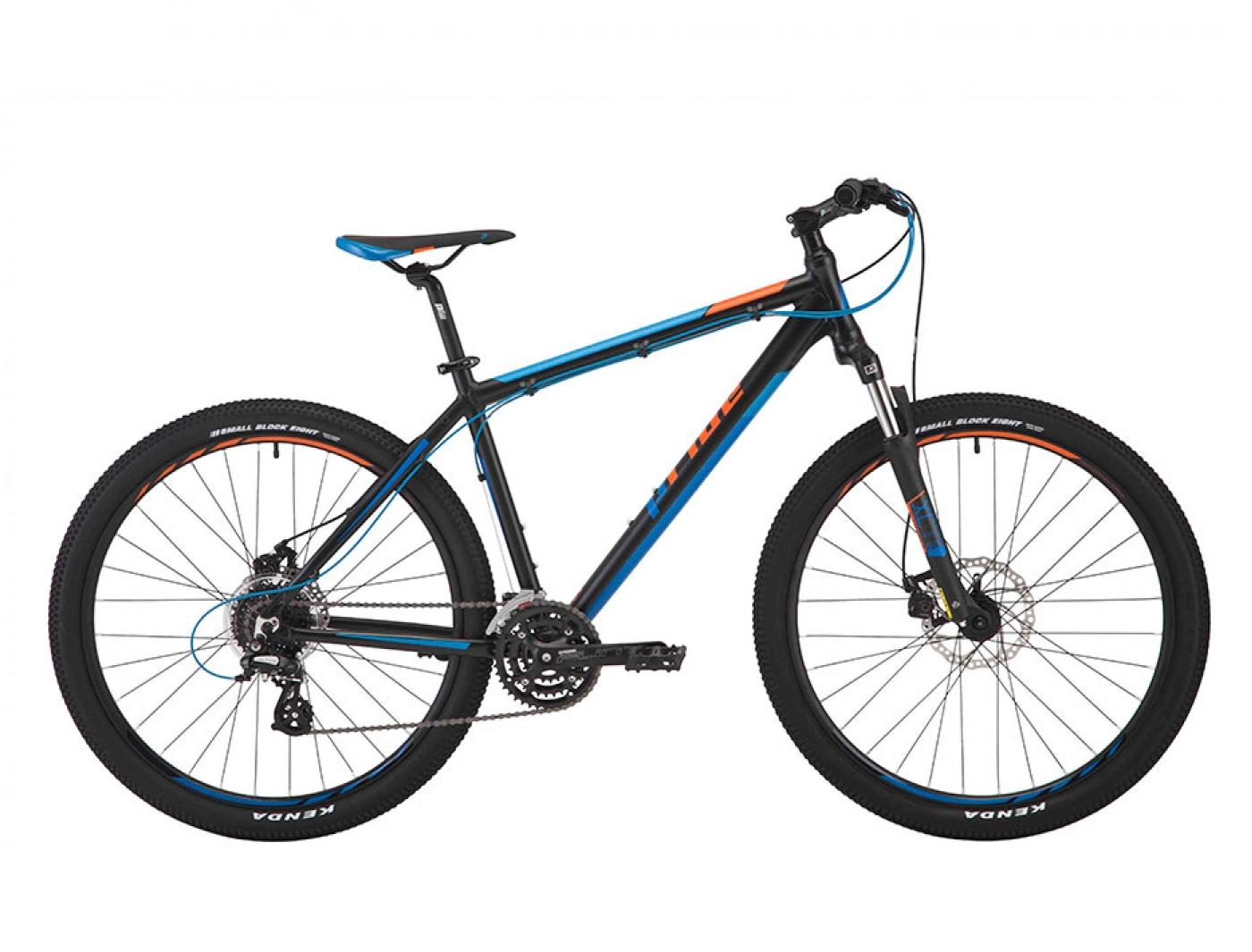 Велосипед PRIDE REBEL 7.2 Black (2017)