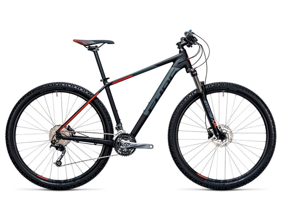 Велосипед Cube Aim SL 29 (2017) (Черный)