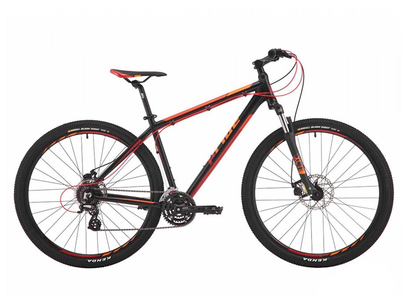 Велосипед PRIDE REBEL 9.2 (Черный/Оранжевый)