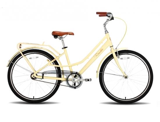 велосипед pride roadster бежевый