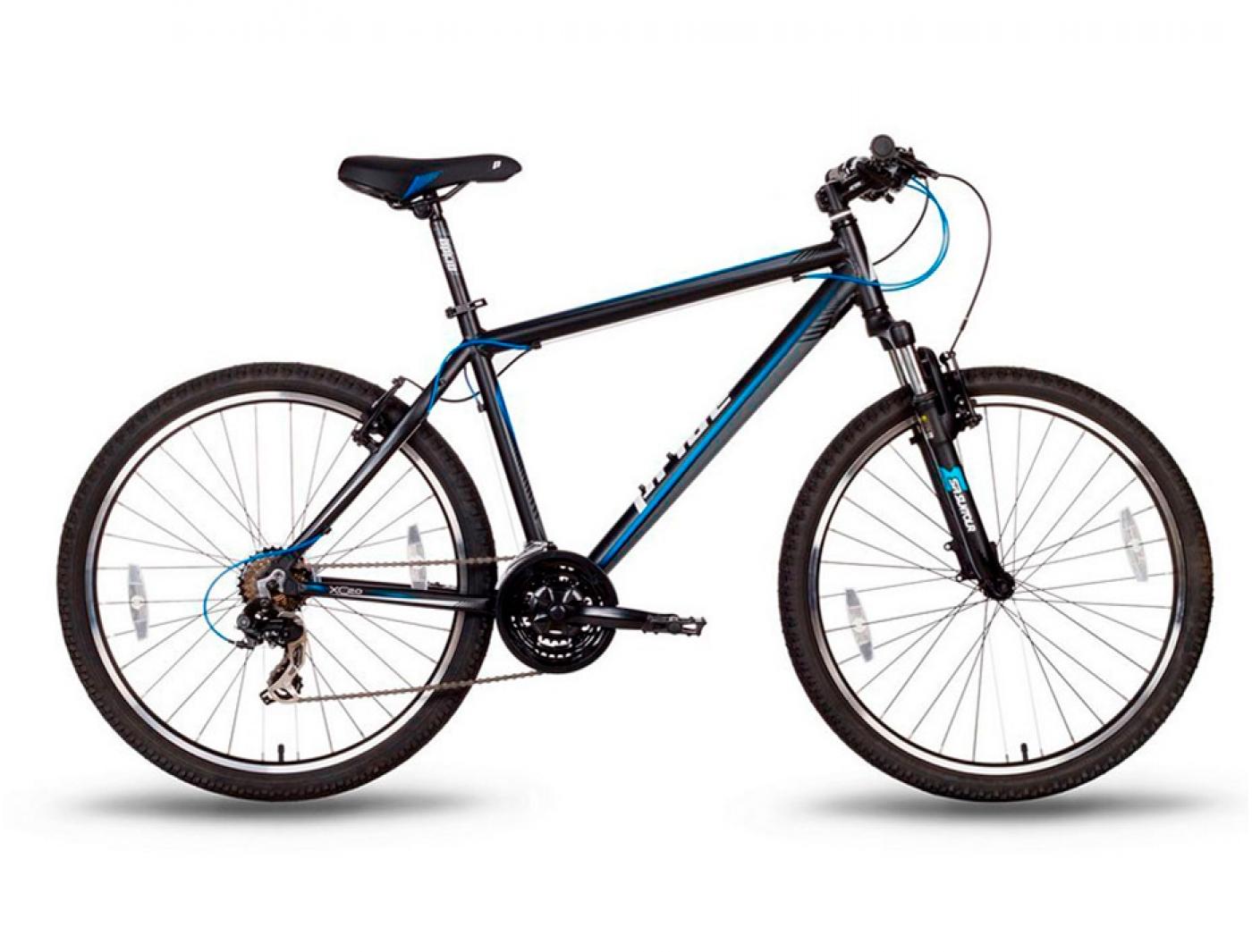 Велосипед Pride XC-2.0 Сине-черный (2016)