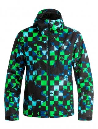 Сноубордическая куртка Mission Plus (WAXDOTCAMO) (2017)