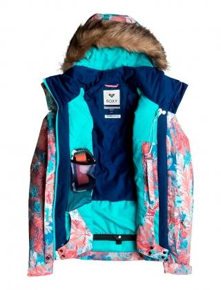 Сноубордическая куртка Jet Ski (UNDERSEA CAMELLIA) (2017)