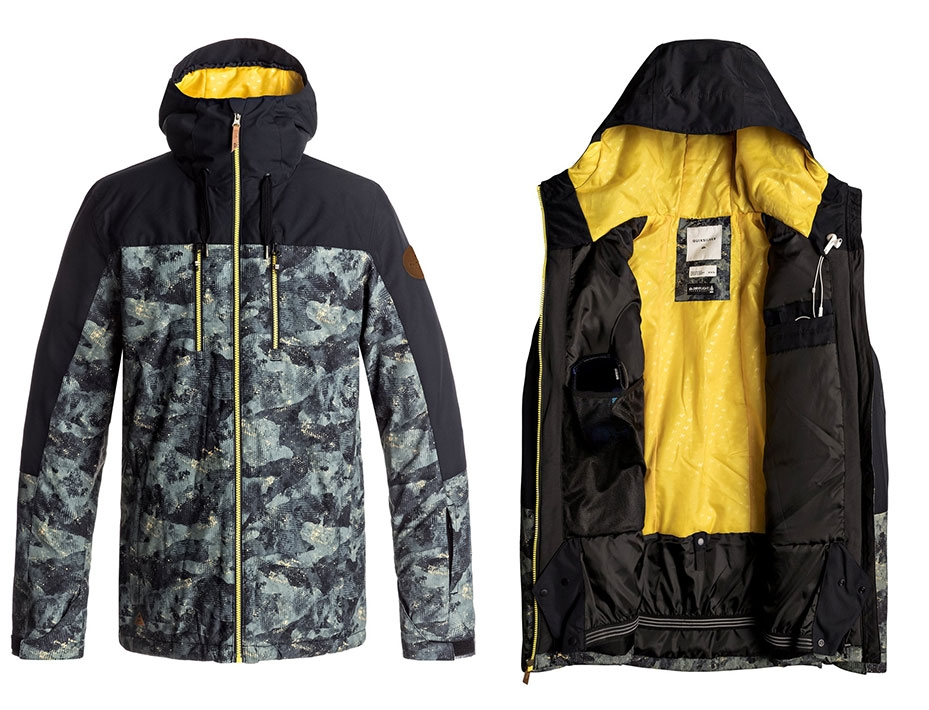 Сноубордическая куртка Quiksilver Mission Block (ANICAMO) (2018)