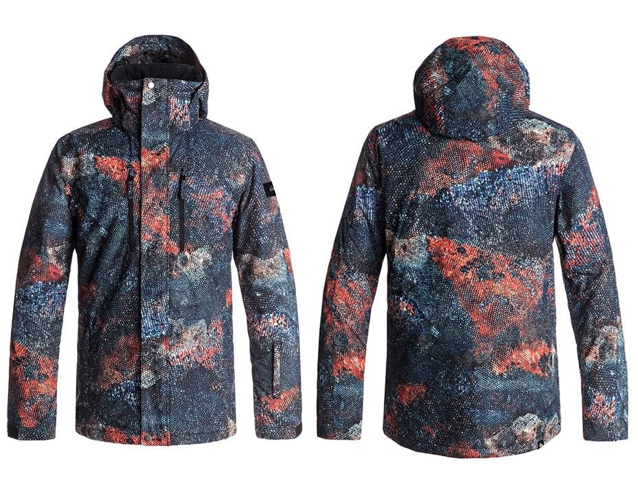 Сноубордическая куртка TR Mission (MARINE IGUANA REAL) (2018)