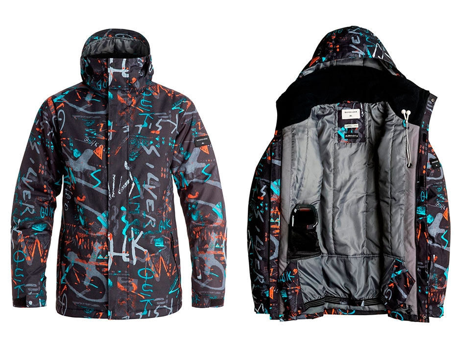 Подростковая куртка Quiksilver (HIELINE BLUE) (2017)