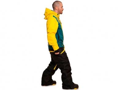 комбинезон cool zone snowboard 4310/28 желтый-болотный-черный (2018)
