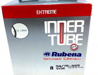 Камера RUBENA 26x2,10-2,50, Авто ниппель