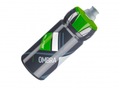Фляга Elite, 550 мл Ombra, серый, зеленый рисунок
