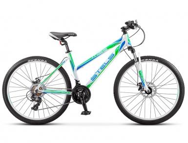 Велосипед STELS Miss-5100 MD (2017) (Белый/Зеленый)