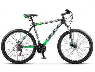 Велосипед STELS Navigator-600 MD (2016) (Черный/Зеленый)