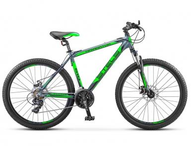 """Велосипед STELS Navigator-610 MD 26"""" (2016) (Черный/Салатовый)"""