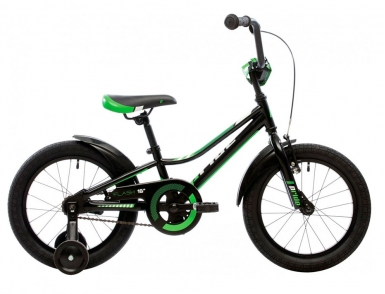 Велосипед Детский 16 Pride Flash (Черно-Зеленый) (2016)