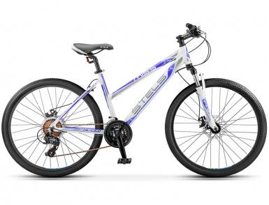 Велосипед STELS Miss-5300 MD (2017) (Белый/Фиолетовый)