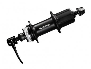 Втулка задняя Shimano, TX505, 36 отв, 8/9/10ск, QR, C.Lock, без кожуха, old: 135мм