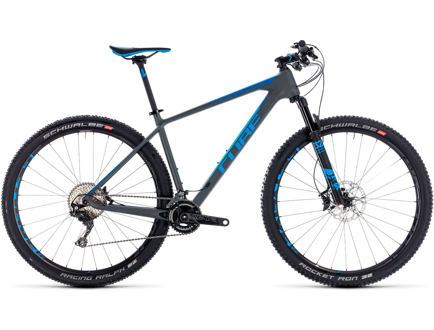 Велосипед CUBE REACTION C:62 SL 2X 29 (2018)