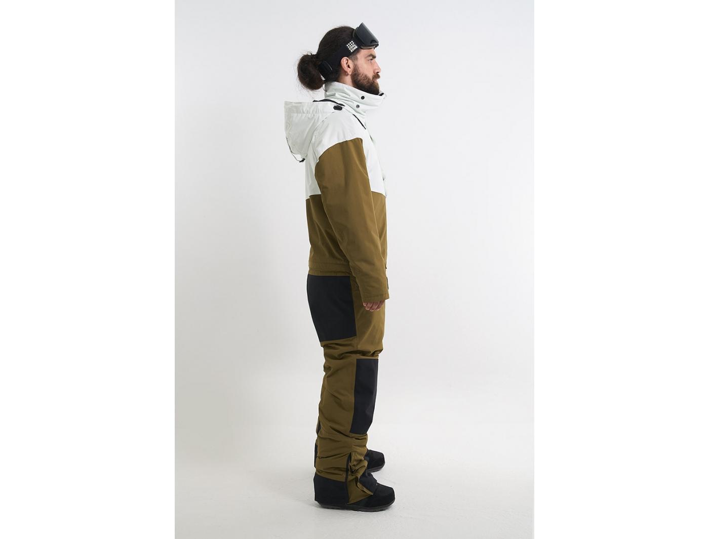 Комбинезон KN2118/35/06 SLASH белый/оливковый (2022)