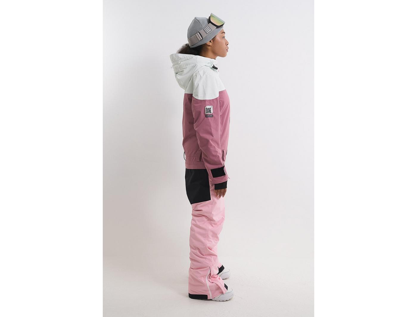 Комбинезон VIBE KN1127/35/42/26 белый/темно-розовый/светло-розовый (2022)