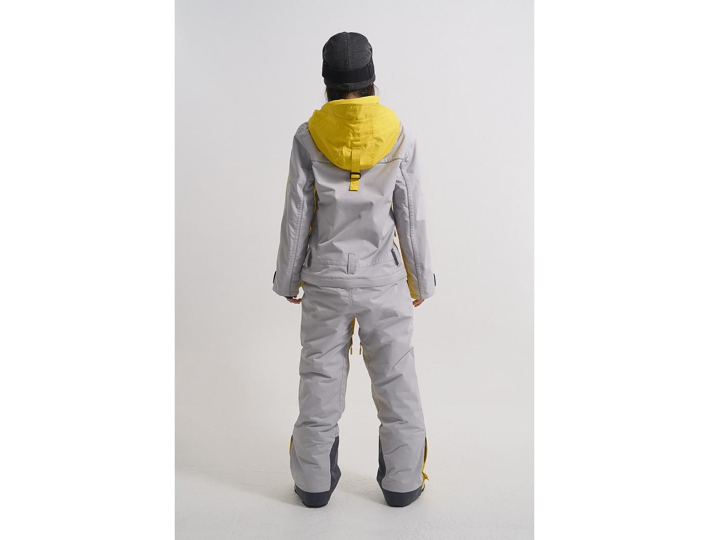 Комбинезон OVER KN1124/10/36 желтый/холодныйсерый (2022)