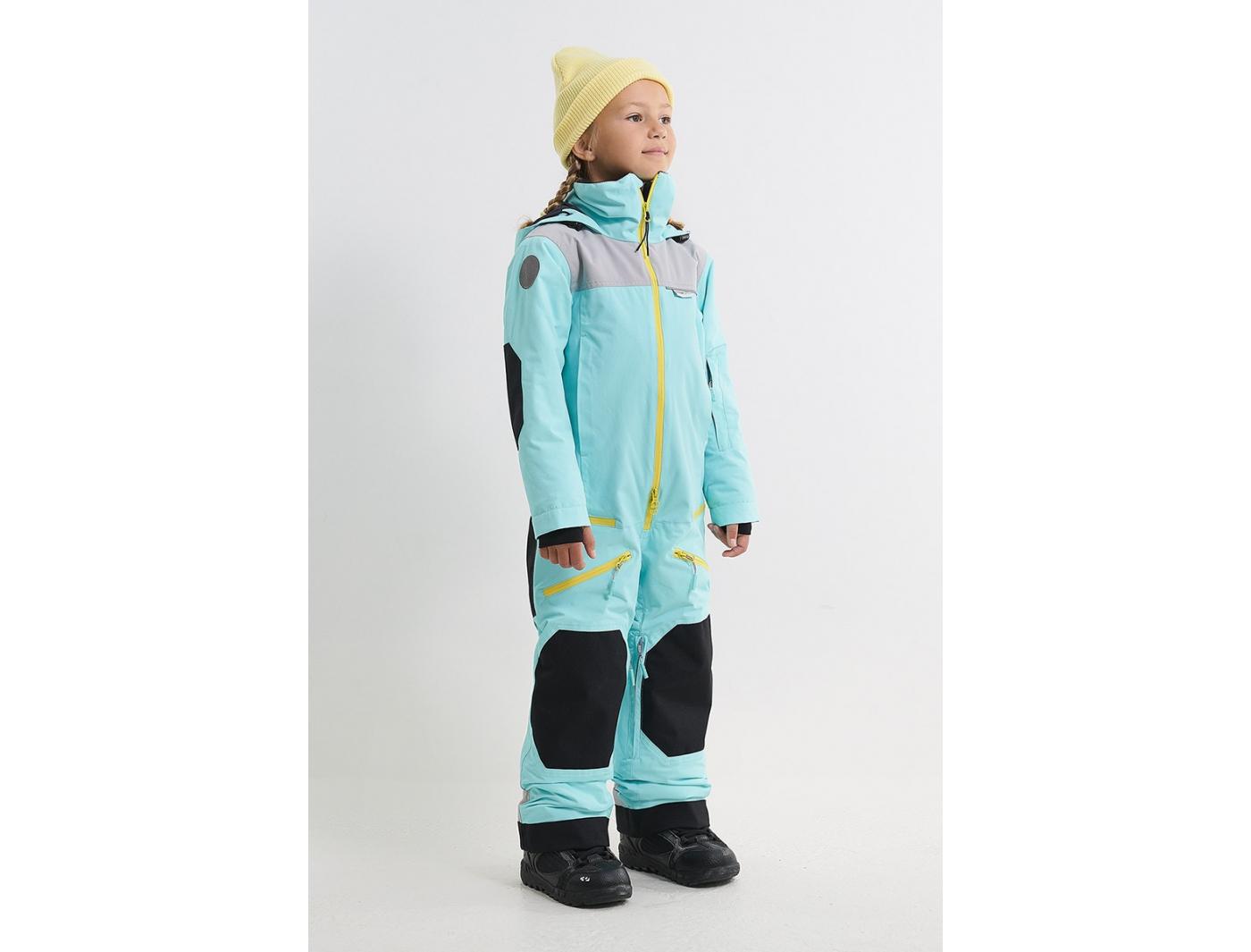 Комбинезон BOOST KN3128/23/36/23 аквамарин/холодный серый/аквамарин (2022)