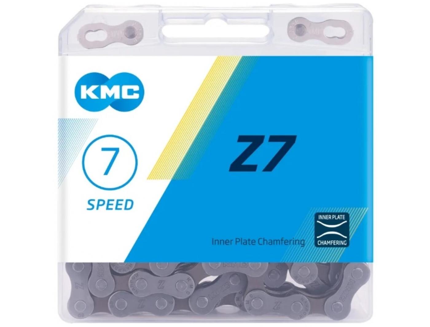"""Цепь 5-303710 1/2""""х3/32"""" Z-7 7,3мм с замком в коробке 6-7скор. (10) КМС"""