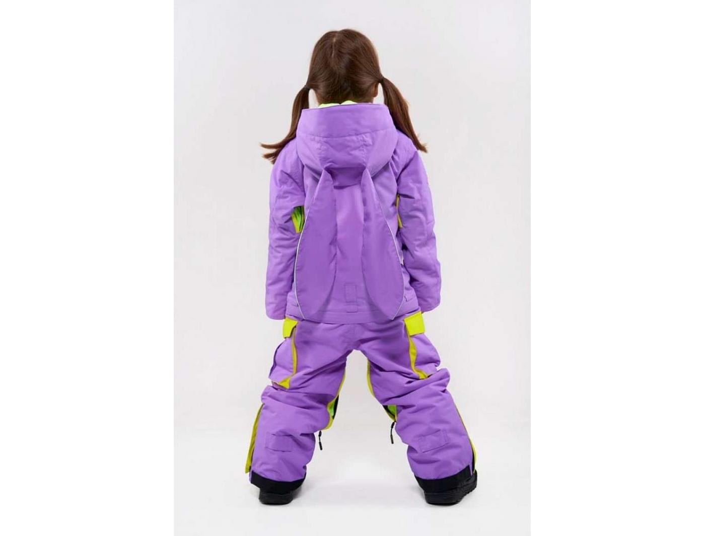Комбинезон FUN KIDS 3115/30 Фиолетовый-салатовый (2020)