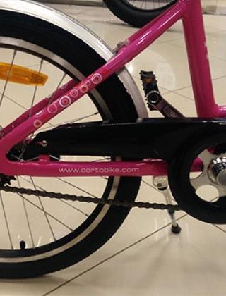 Детский велосипед Corto KITI (Малиновый)