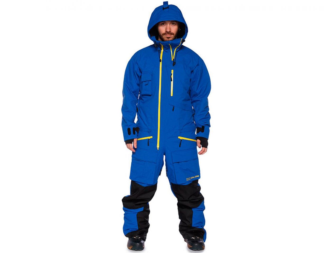 комбинезон cool zone snowmobile 4018 синий (2018)
