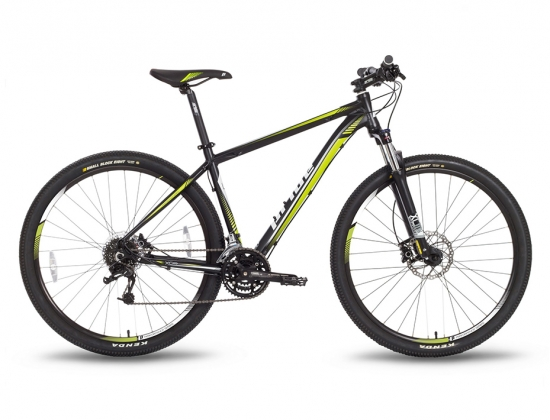 Велосипед Pride XC-29 HD Черно-Зеленый (2016)