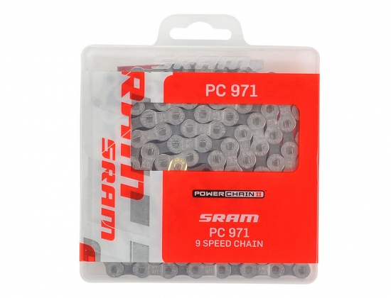 Цепь SRAM PC-971+PowerLink 9ск (87.2745.114.105)