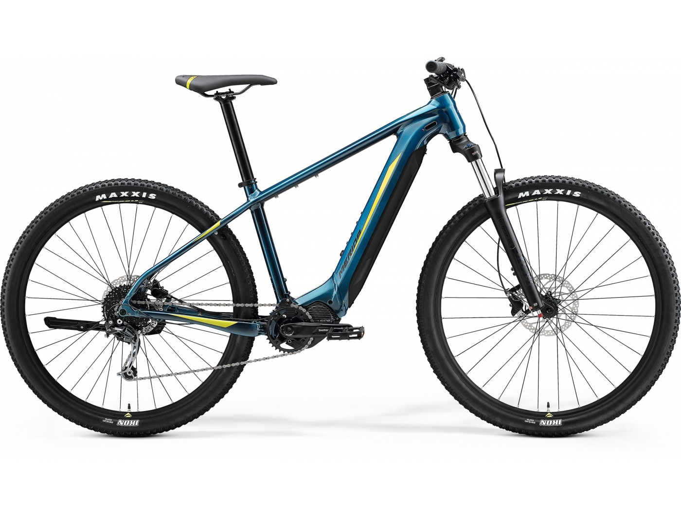 Велосипед Merida eBIG.NINE 400 (2021)