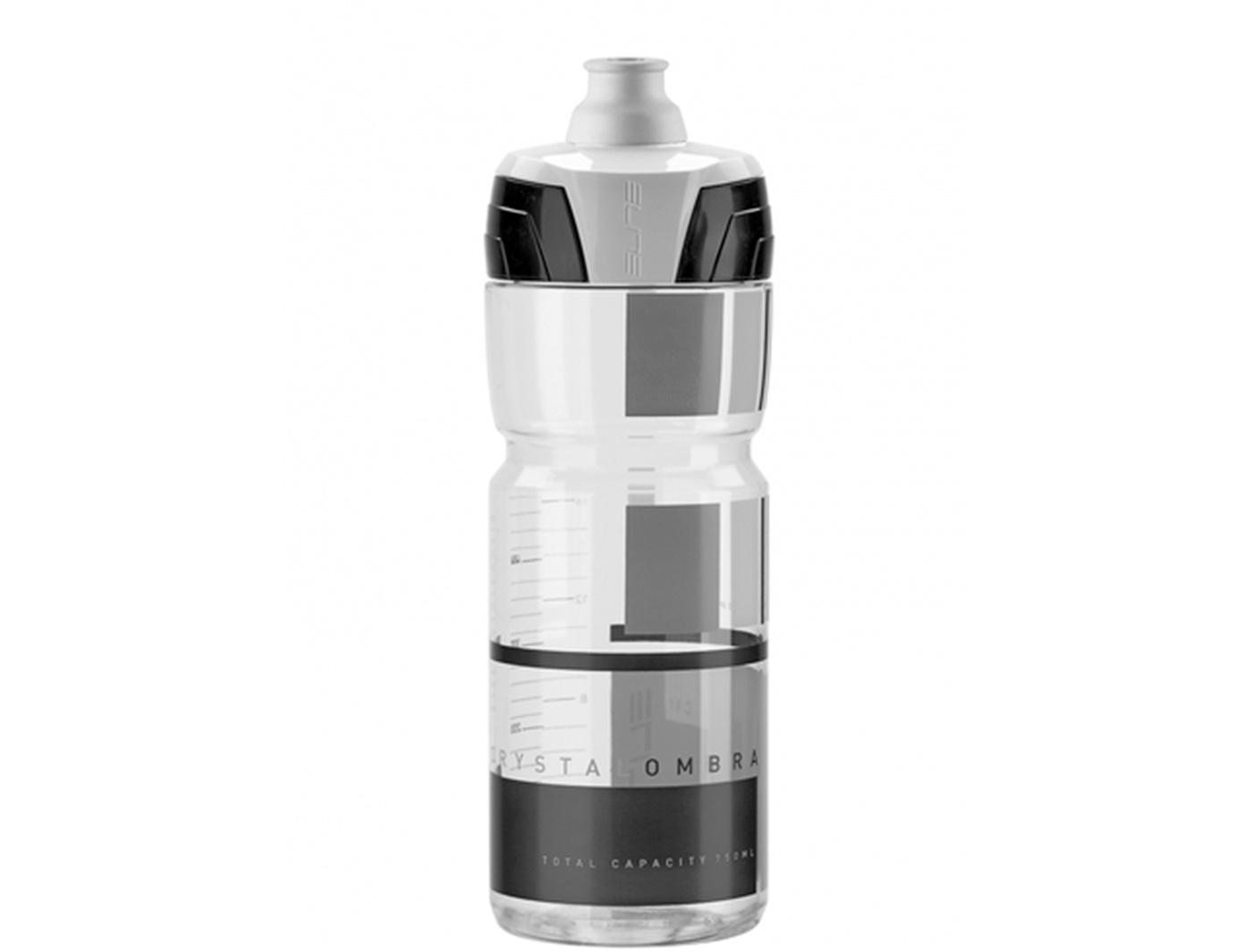 Фляга Elite, 750 мл Crystal Ombra, дымчатый, серый  рисунок