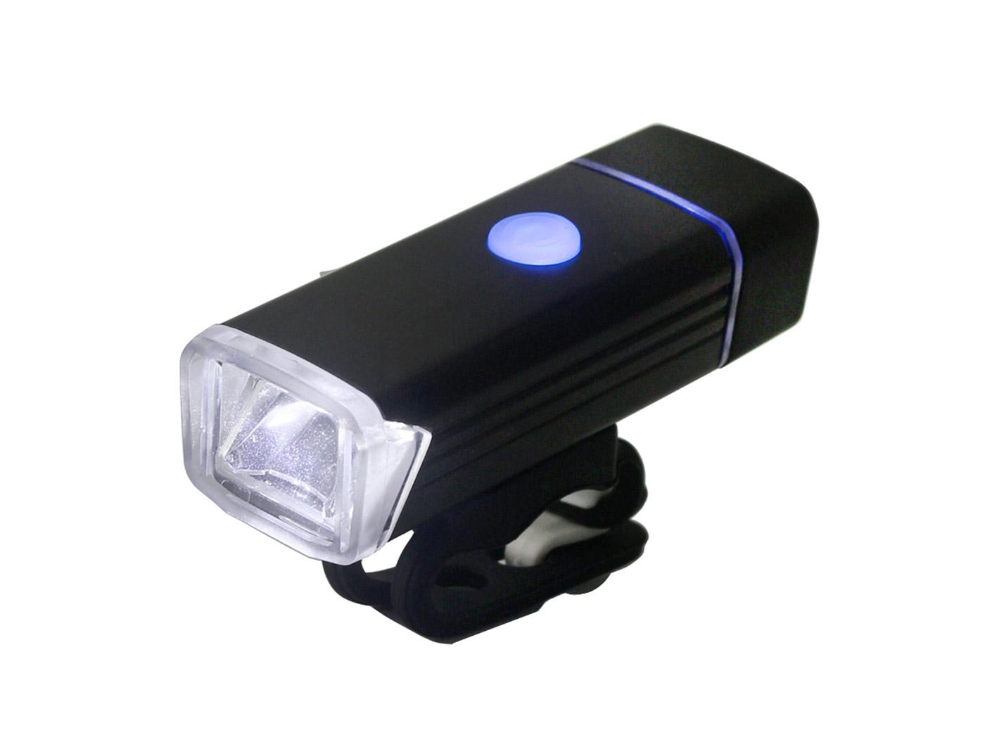 Фонарь передний Lumen 201, 300 lumen, USB, 1200mAh