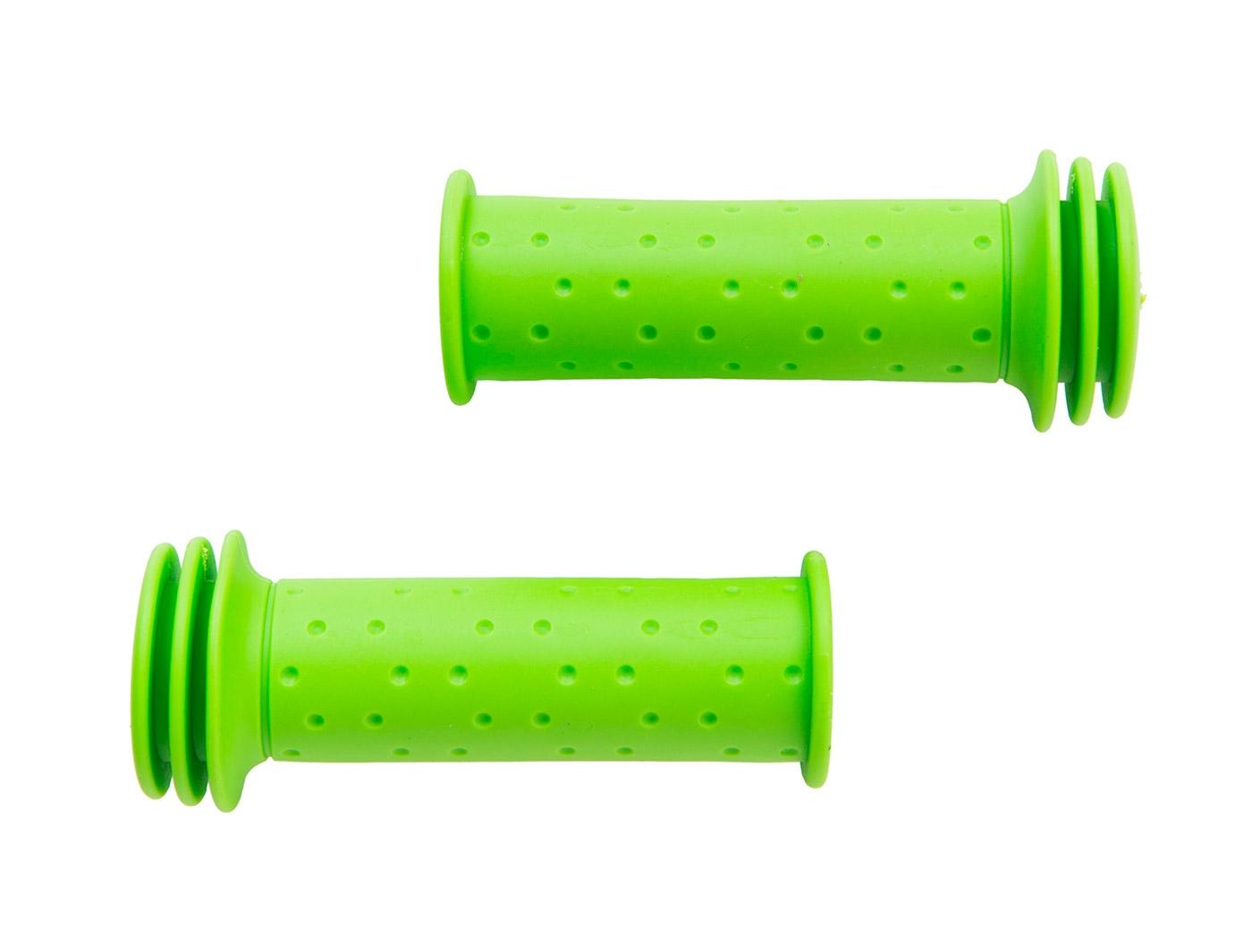 Грипсы Green Cycle GC-G96 102mm детские, зеленые
