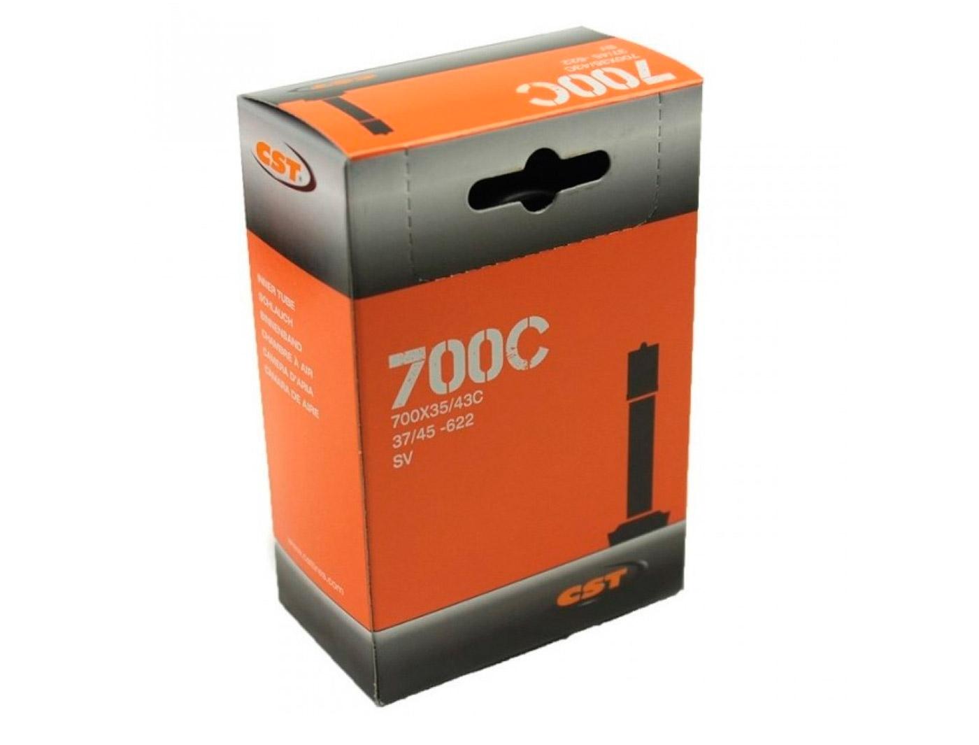 Камера 700x35/45C Schrader 48mm (28х1 5/8х13/8)