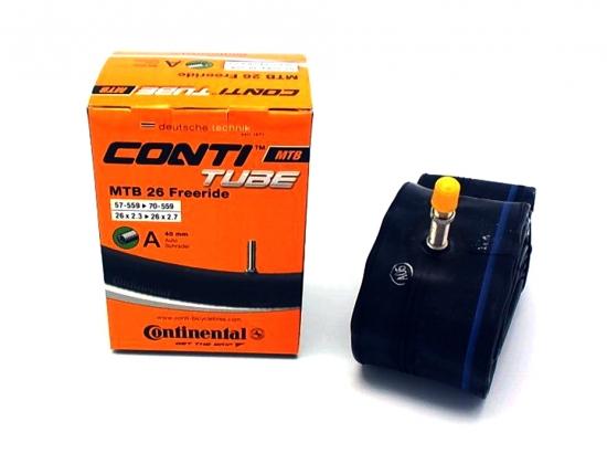"Камера Continental MTB 26x2.3-2.7"" 26 Freeride Авто ниппель"