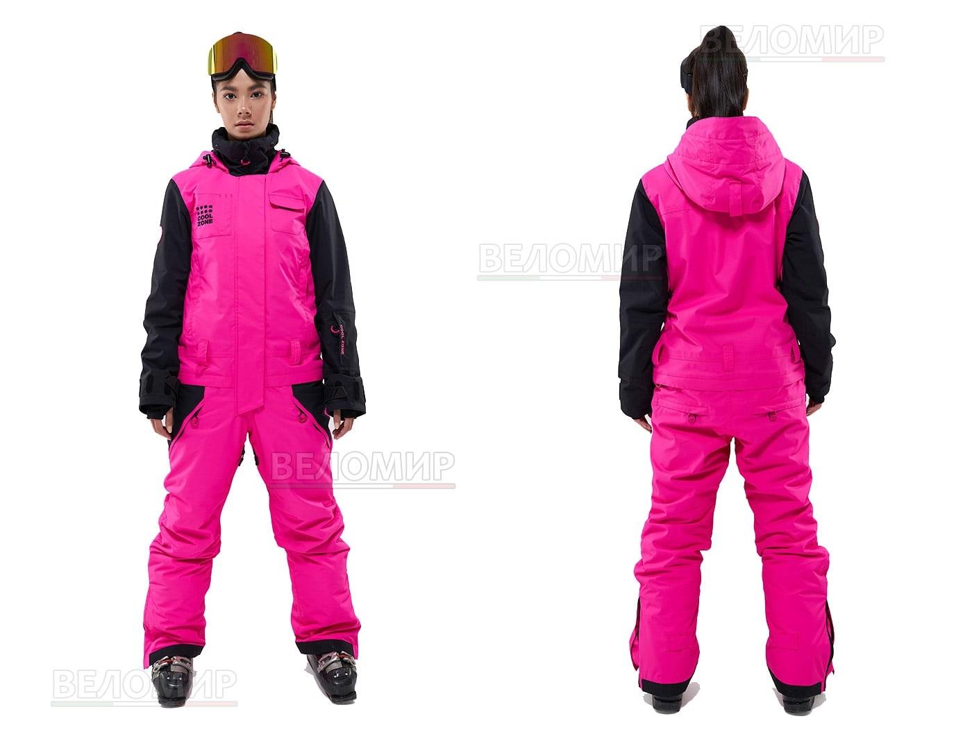 Комбинезон Cool Zone FLEX KN1110/22/20 Цикламеновый/Черный (2020)