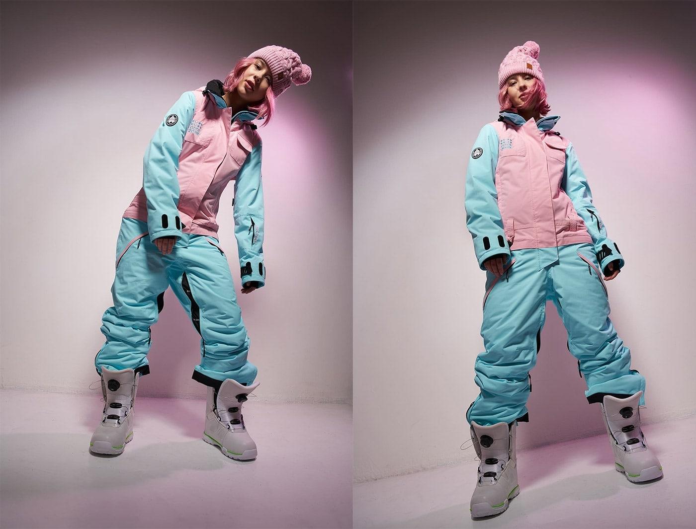 Комбинезон Cool Zone FLEX KN1112/26/29 Св.Розовый/Голубой (2020)