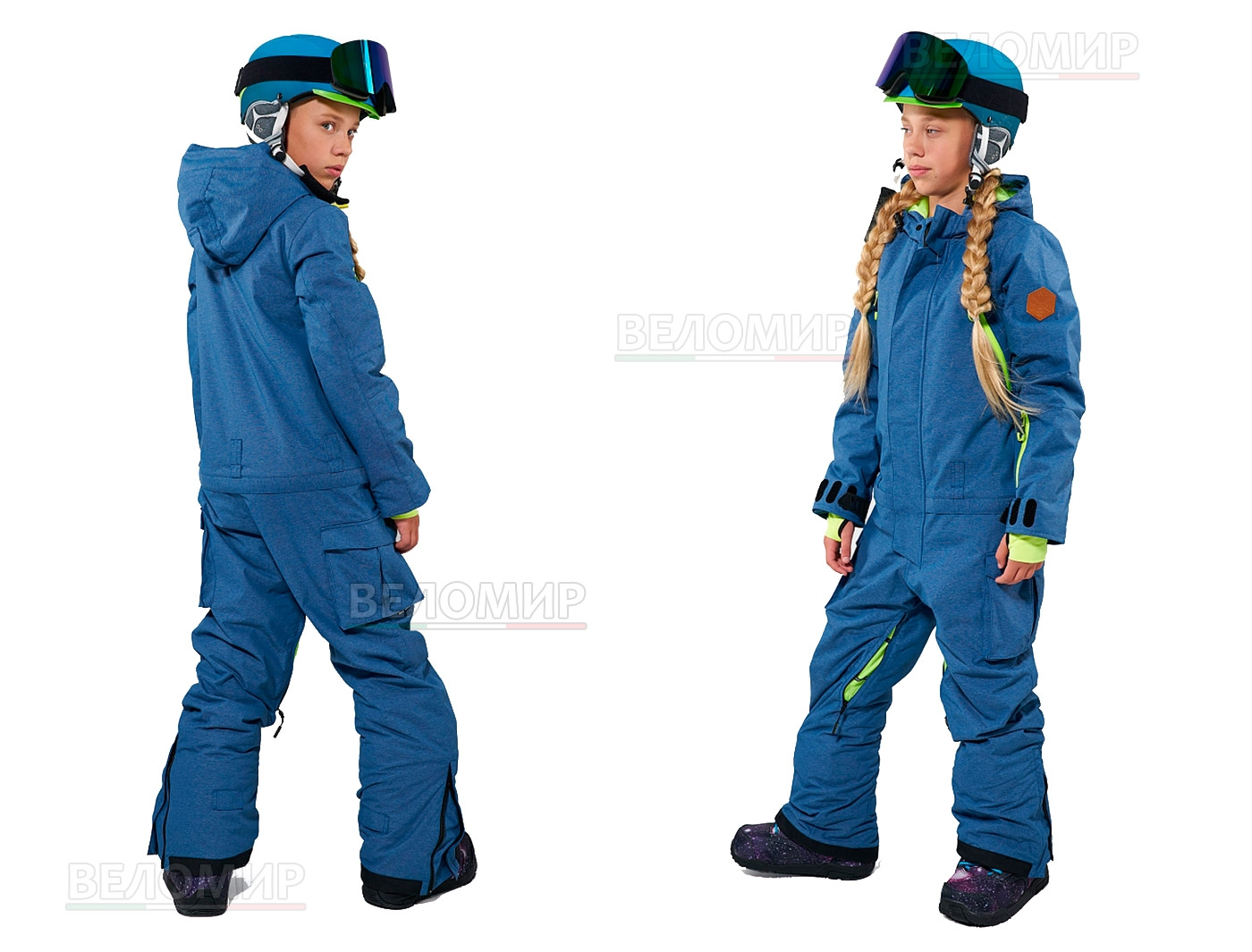 Комбинезон Cool Zone FUN KN 3115/01/1 TEENS Темно-Синий джинс (2020)