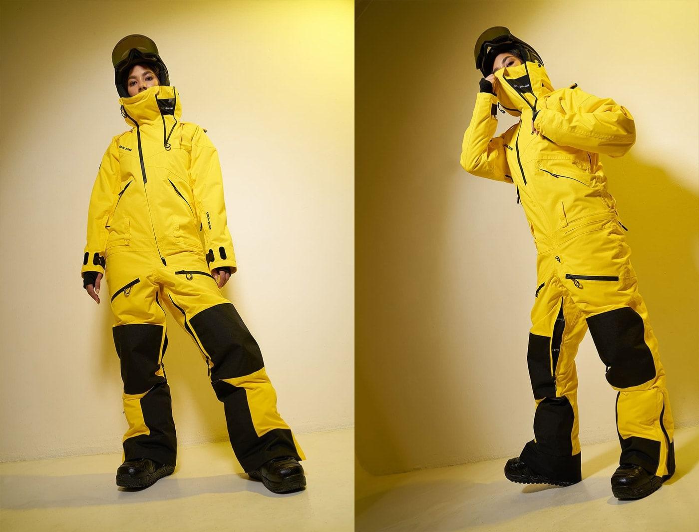 Комбинезон Cool Zone KITE KN1108 Т/10 Желтый (2020)