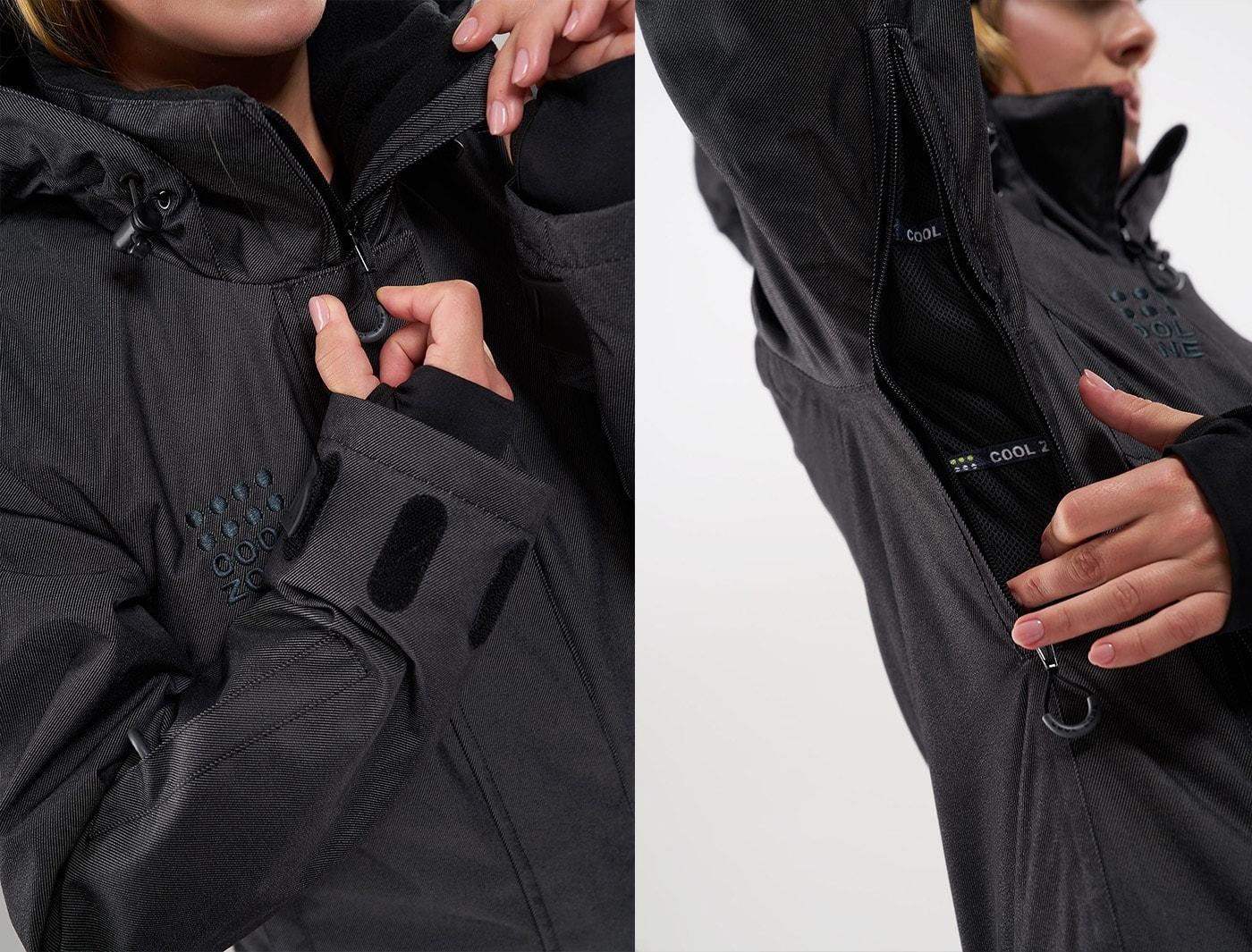 Комбинезон Cool Zone TWIN ONE COLOR KN1105/08 Серый джинс (2020)