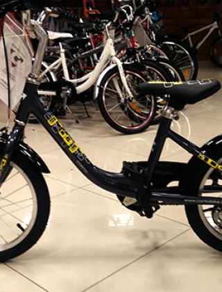Детский Велосипед Corto MIKI (Черный)