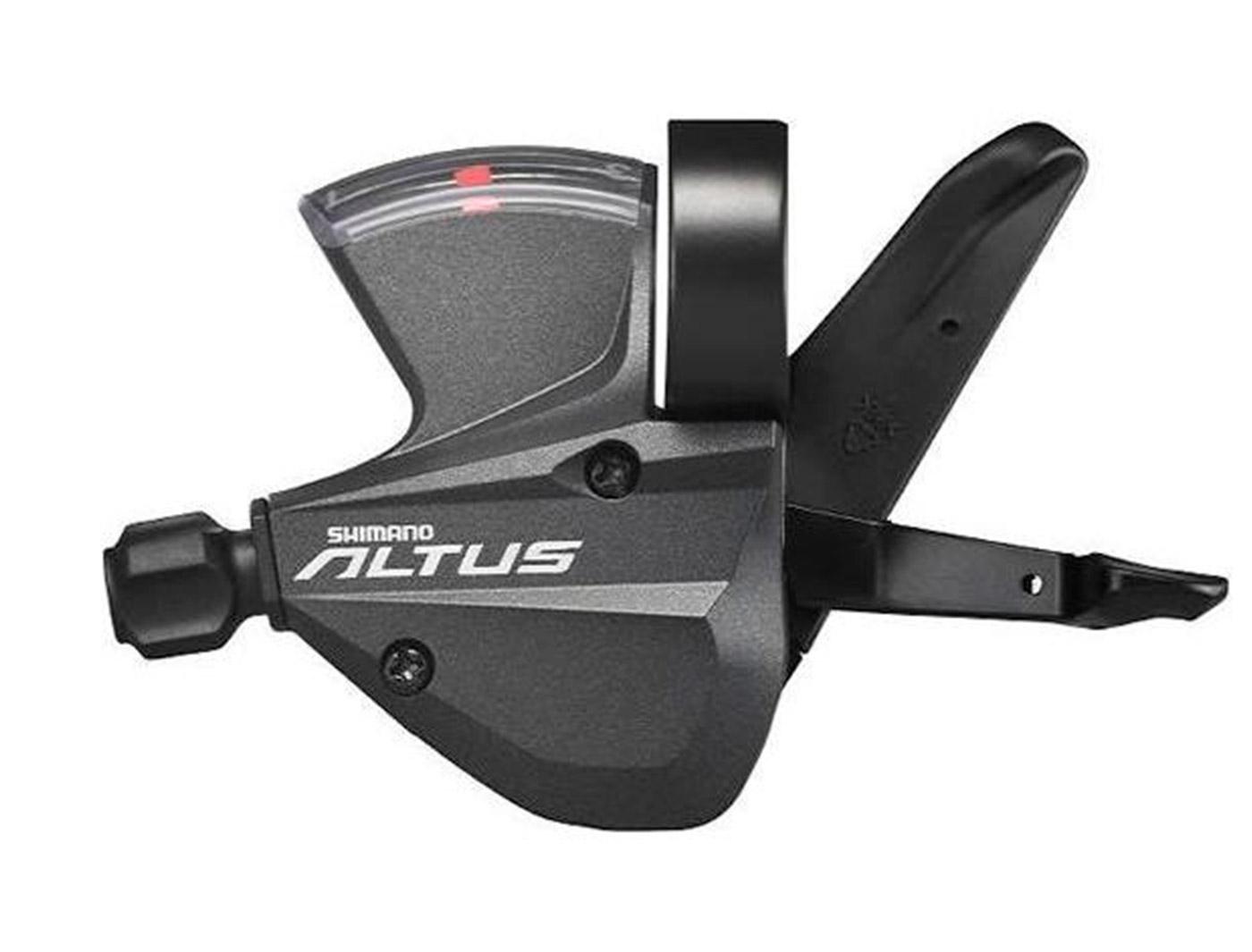 Манетки Front Shimano Altus SL-M370 rapidfire (3ск.) Black (2090032125)