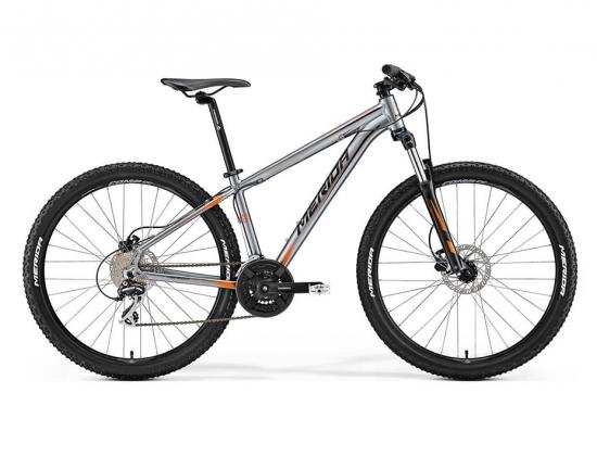 Велосипед Merida Big Nine 20MD (Серый) (2017)