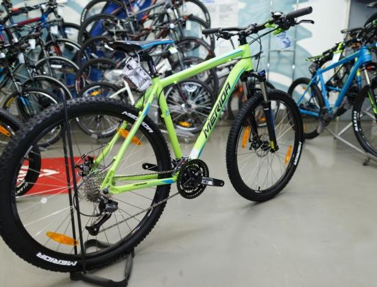 Велосипед Merida Big.Seven 40-D (Зеленый) (2017)