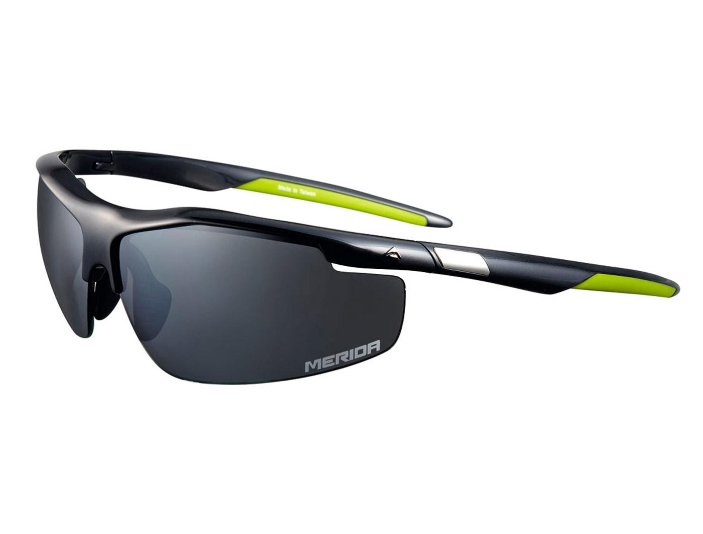 Очки со сменными линзами Merida Sport Edition Sunglasses Shiny black/Green (2313001066)